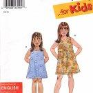 SIMPLICITY PATTERN #9172 CHILD'S DRESS SIZE  A - 3,4,5,6,7,8 USED 2000