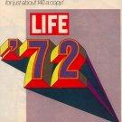 1972 NEW YEAR NEW EXCITEMENT LIFE '72 MAGAZINE AD  (60)
