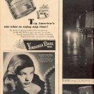 1944 VIRGINIA DARE WINE OR SQUIBB ANESTHETICS LABORATORY & STILL MAGAZINE AD (92)