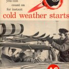 1961  AC FIRE-RING SPARK PLUGS  MAGAZINE AD  (9)