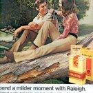 1972 RALEIGH CIGARETTES MAGAZINE AD  (53)