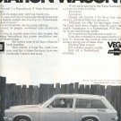 1971 CHEVROLET VEGA STATION WAGON MAGAZINE AD  (59)