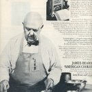 1972 JAMES BEARD IS AMERICA'S PASSIONATE PASHA OF FOOD MAGAZINE AD  (80)