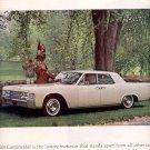 1964 LINCOLN CONTINENTAL MAGAZINE AD  (139)