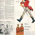 1953 JOHNNIE WALKER BLENDED SCOTCH WHISKY MAGAZINE AD  (197)