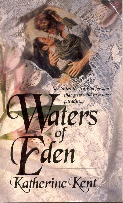 WATERS OF EDEN by KATHERINE KENT 1981 PAPERBACK BOOK NEAR MINT