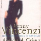 ALMOST A CRIME by PENNY VINCENZI 2000 PAPERBACK BOOK NEAR MINT