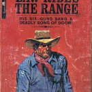 LAW RIDES THE RANGE by WALT COBURN 1935 WESTERN PAPERBACK BOOK GOOD CONDITION