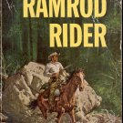 RAMROD RIDER by T. V. OLSEN 1961 WESTERN PAPERBACK BOOK GOOD CONDITION