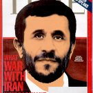 TIME SEPTEMBER 25 2006 - EXCLUSIVE INTERVIEW AHMADINEJAD & WAR WITH IRAN BACK ISSUE MAGAZINE N. MINT