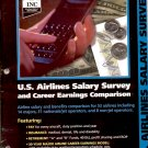 U.S. AIRLINES SALARY SURVEY 2ND EDITION 1998 BACK ISSUE MAGAZINE NEAR MINT