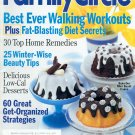 FAMILY CIRCLE FEBRUARY 1 2001 - BEST EVER WALKING WORKOUTS BACK ISSUE MAGAZINE NEAR MINT