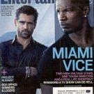 ENTERTAINMENT WEEKLY MAGAZINE JULY 2006 MIAMI VICE FARRELL &  FOXX BACK ISSUE MAGAZINE NEAR MINT