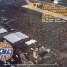 1979 27TH ANNUAL INTL EAA CONVENTION & SPORT AVIATION EXHIBITION PROGRAM WITTMAN FIELD OSHKOSH WIS.