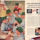 1957 GLEEM TOOTHPASTE MAGAZINE AD (222)