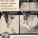 1957 WESTINGHOUSE SPEED CLEANER VACCUM MAGAZINE AD (232)