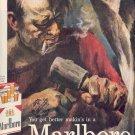 1959 MARLBORO CIGARETTES MAGAZINE AD (252)