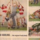 1958 CANADIAN CLUB WHISKEY MAGAZINE AD (254)