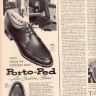 1958 PORTO-PED AIR CUSHION SHOES MAGAZINE AD (263)