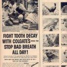 1958 COLGATE DENTAL CREAM MAGAZINE AD (264)