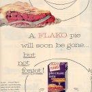 1959 FLAKO PIE CRUST MIX MAGAZINE AD (281)