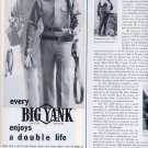 1959 BIG YANK UNION MADE CLOTHING BY RELIANCE MANUFACTURING MAGAZINE AD (289)