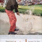 "1959 SEAGRAM'S V.O. CANADIAN WHISKEY AT ""THE MASTERS"" MAGAZINE AD (318)"