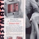 1959 TOASTMASTER INSTANT HEAT ELECTRIC HEATERS MAGAZINE AD (322)