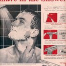 1959 SCHICK SAFETY RAZOR MAGAZINE AD (334)