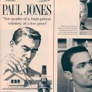 1959 PAUL JONES AMERICAN BLENDED WHISKEY AND ARCHITECTS MAGAZINE AD (336)