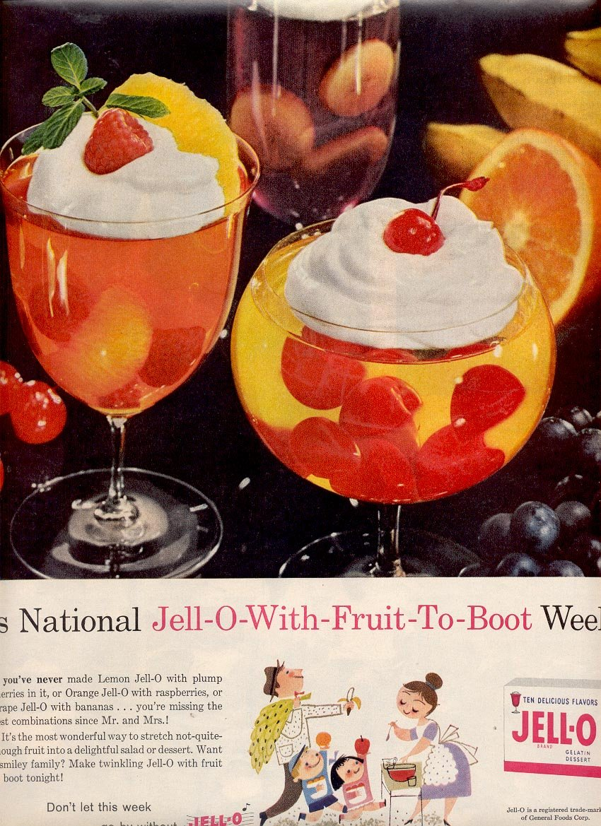 1959 JELL-O MAGAZINE AD (359)