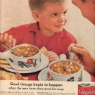 1959 CAMPBELL'S VEGETABLE SOUP MAGAZINE AD (364)