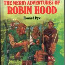 THE MERRY ADVENTURES OF ROBIN HOOD 1990 GREAT ILLUSTRATED CLASSICS HARDBACK BOOK NEAR MINT