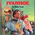 IVANHOE BY SIR WALTER SCOTT 1994 GREAT ILLUSTRATED CLASSICS HARDBACK BOOK NEAR MINT