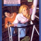 NANCY DREW MYSTERY STORIES #126 THE RIDDLE IN THE RARE BOOK 1995 PAPERBACK BOOK NEAR MINT
