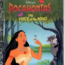 DISNEY'S POCAHONTAS THE VOICE OF THE WIND A LITTLE GOLDEN BOOK 1996 CHILDREN'S HARDBACK BOOK MINT
