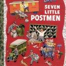 SEVEN LITTLE POSTMEN - A LITTLE GOLDEN BOOK CLASSIC 2003 CHILDREN'S HARDBACK BOOK MINT