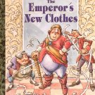 THE EMPEROR'S NEW CLOTHES - A LITTLE GOLDEN BOOK 1993 CHILDREN'S HARDBACK BOOK MINT