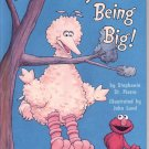 IT'S NOT EASY BEING BIG BY STEPHANIE ST. PIERRE 1998 CHILDREN'S HARDBACK BOOK VERY GOOD COND