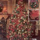 TRADITIONAL ELEGANCE ORNAMENTS - RUNNER - WREATH BY LEISURE ARTS CRAFT BOOKLET 2000 NEAR MINT