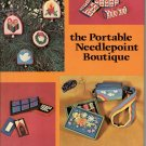 THE PORTABLE NEEDLEPOINT BOUTIQUE by JOYCE AIKEN CRAFTS HARDBACK BOOK 1ST EDITION 1977 NEAR MINT