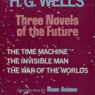 THREE NOVELS: THE TIME MACHINE/INVISIBLE MAN/WAR OF THE WORLDS by H.G. WELLS 1979 HARDBACK BOOK