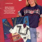 ON THE FRINGE WEARABLE JEWELRY ~ SUZANNE McNEILL DESIGNS 1993 CRAFT BOOK # 2376 DISC NOS NM