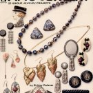 HOT OFF THE PRESS ~ FANCY FIMO JEWELRY CRAFT BOOKLET 1992 DISC NOS NEAR MINT