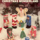 NEEDLECRAFT ALA MODE CHRISTMAS WONDERLAND PLASTIC CANVAS CRAFT LEAFLET 1991 NOS NEAR MINT