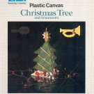 NIFTY CHRISTMAS TREE AND ORNAMENTS PLASTIC CANVAS CRAFT LEAFLET 1988 NEAR MINT