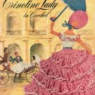 CLARK'S CRINOLINE LADY IN CROCHET BOOK # 262 J. & P. COATS CRAFT BOOKLET 1949 GOOD CONDITION
