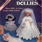 AMERICAN SCHOOL OF NEEDLEWORK DOILIES AND DOLLIES CROCHET CRAFT LEAFLET 1985 O.K. COND