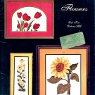 FLOWERS by OAK TREE DESIGNS CROSS STITCH CRAFT BOOKLET 1980 VERY GOOD COND