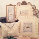 COTTAGE ROSE SAMPLER CROSS STITCH by JEAN FARISH NEEDLEWORKS 1989 CRAFT BOOKLET # 45 NEAR MINT